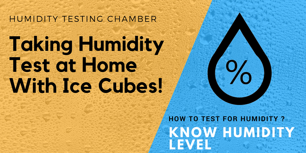 Taking Humidity Test at Home With Ice Cubes! | Engineering